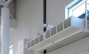 Воздушные завесы используются для сохранения температуры